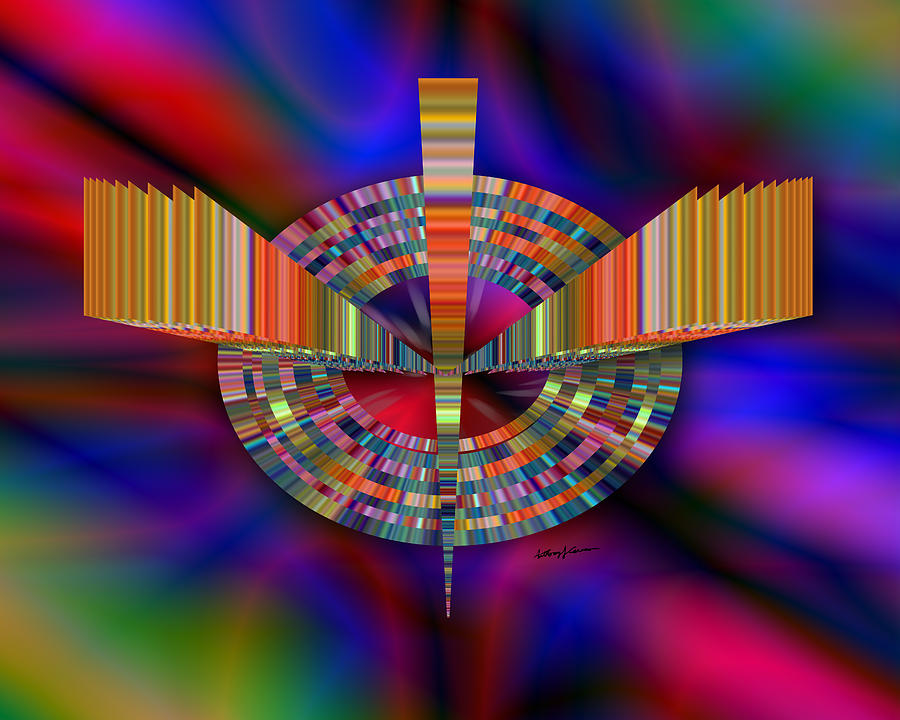 Abstract Digital Art - Artifact by Anthony Caruso