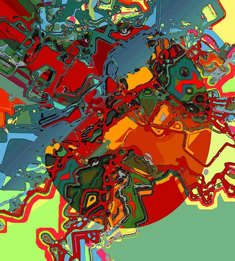 Artificial Retina Digital Art