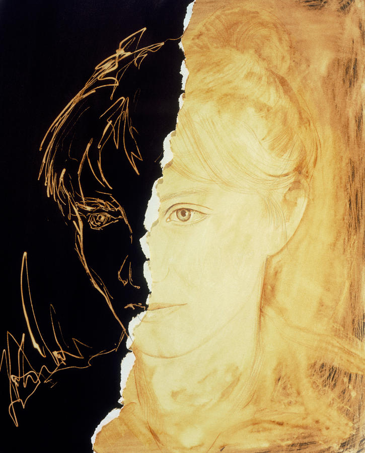 Artists Abstract Depiction Of Schizophrenia Photograph