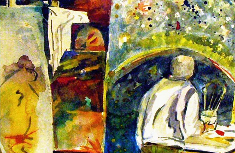 Artists Studio Painting