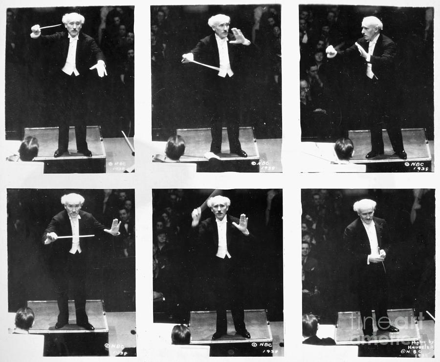 Arturo Toscanini Photograph