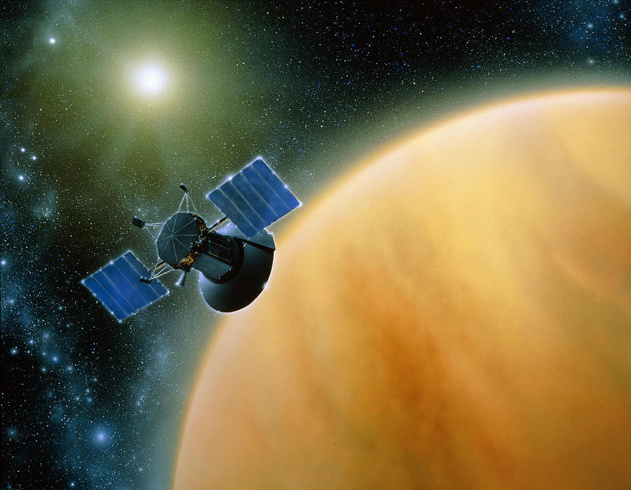 images from magellan spacecraft - photo #27