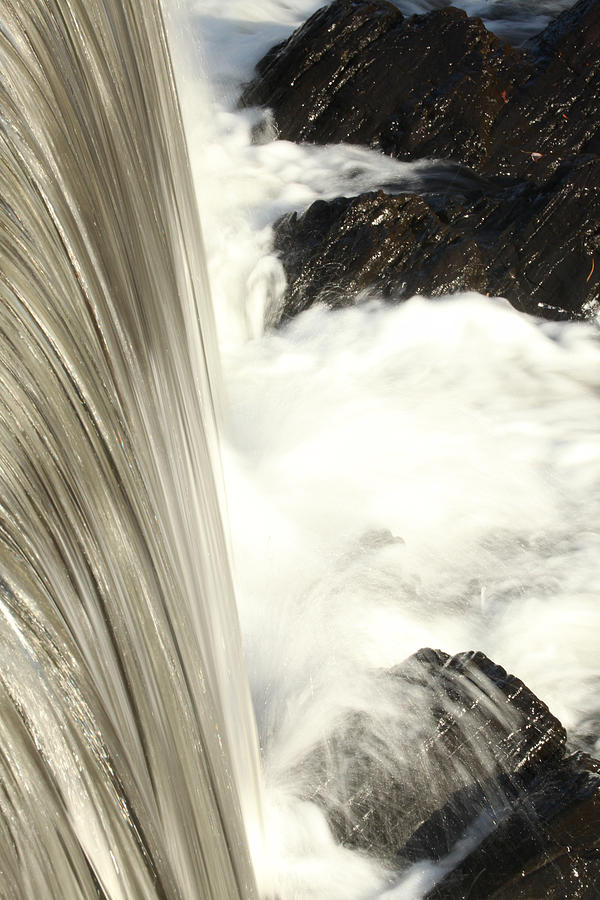As The Water Falls Photograph