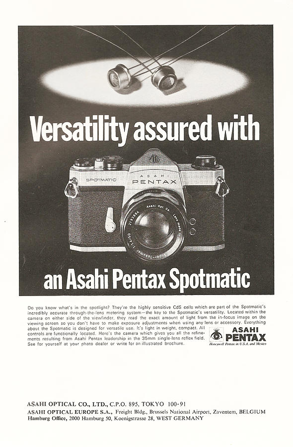 Asahi Pentax Spotmatic Digital Art