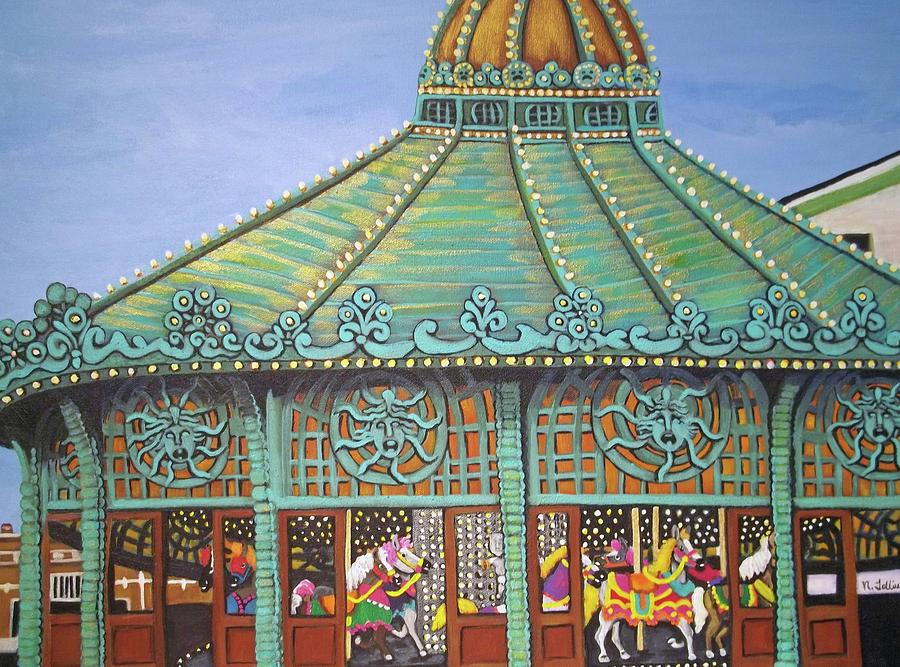 Asbury Park Carousel House II Painting