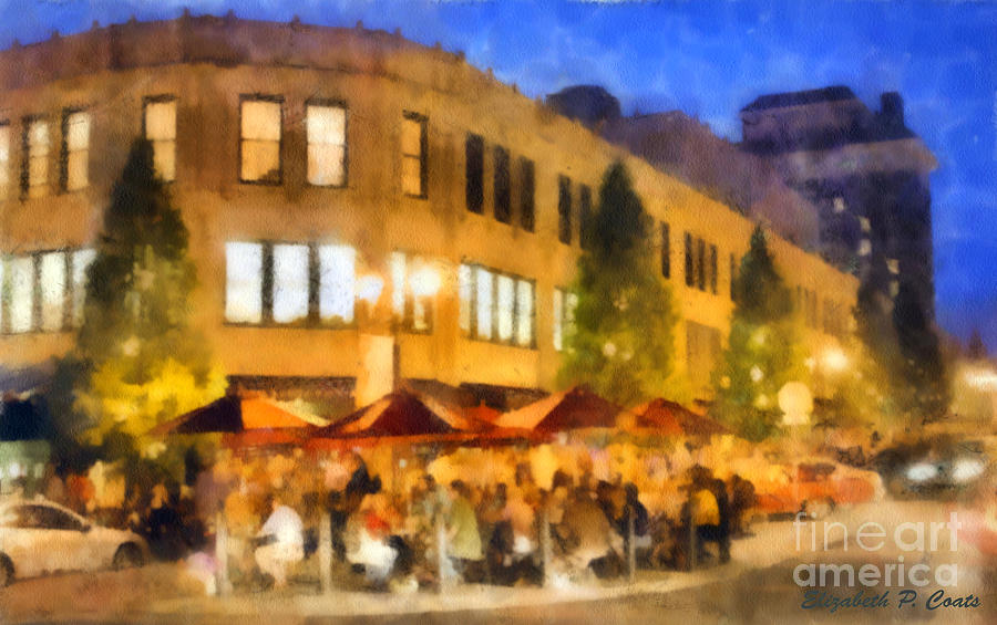 Asheville Nightlife Painting  - Asheville Nightlife Fine Art Print