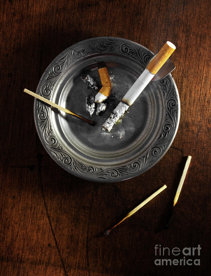 Ashtray Photograph  - Ashtray Fine Art Print