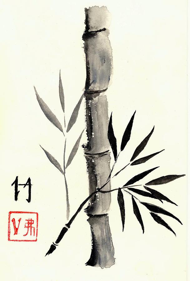bamboo drawing - photo #8