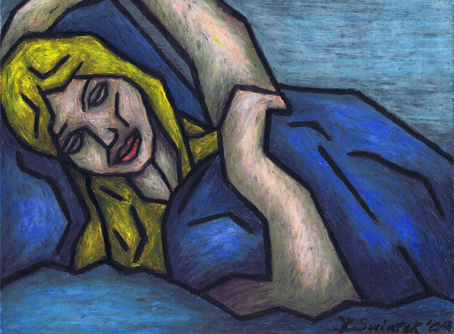 Asleep Painting