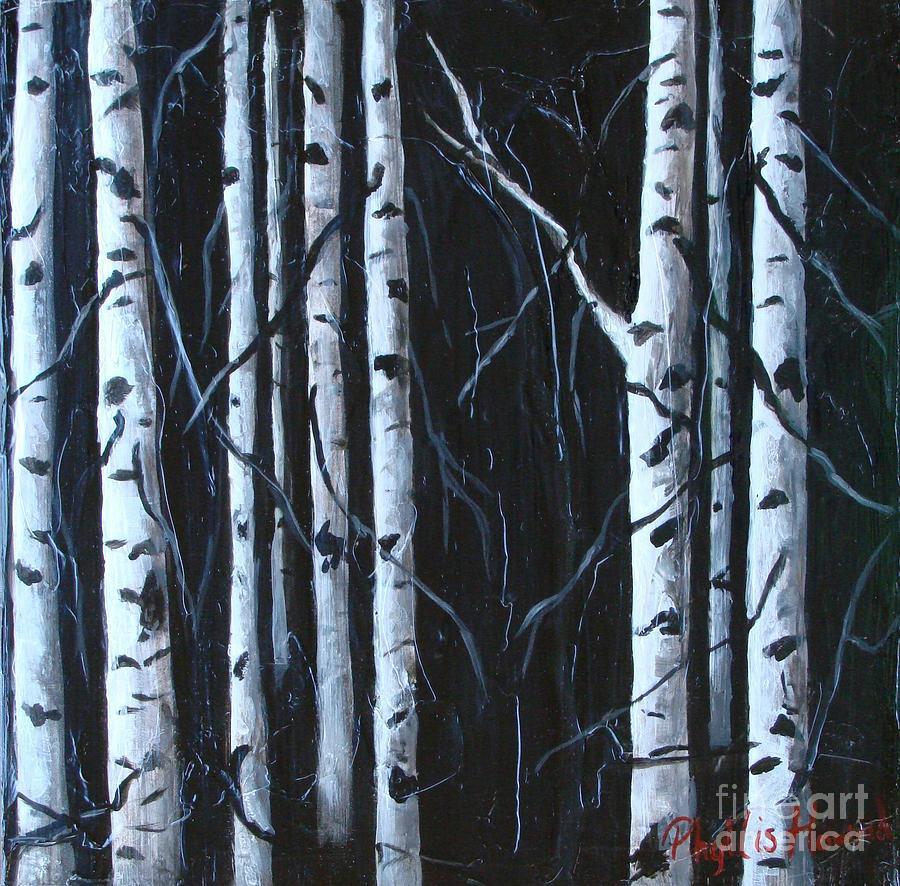 Aspen grove painting aspen images frompo for Aspen x2