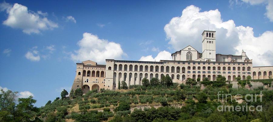 Assisi Italy -  Basilica Of San Francesco Dassisi - 02 Photograph