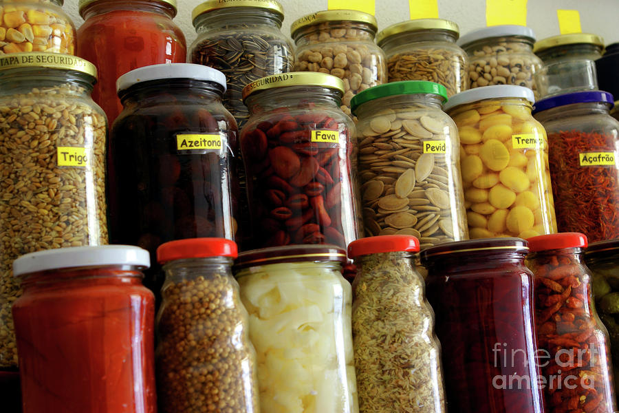 Assorted Spices Photograph  - Assorted Spices Fine Art Print