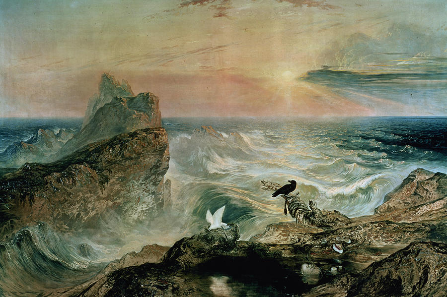 Assuaging Of The Waters Painting
