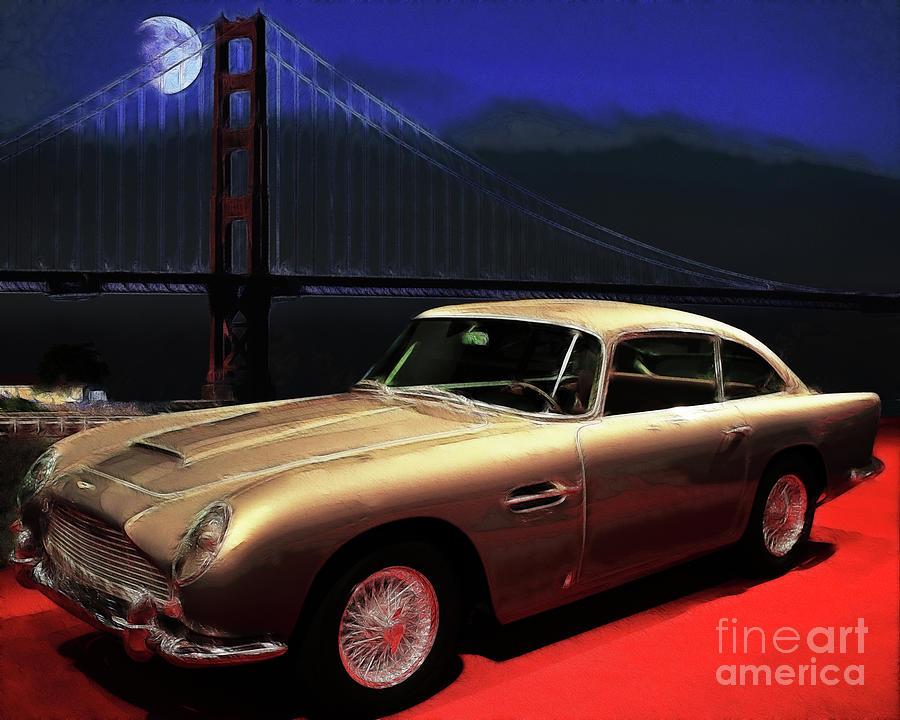 Aston Martin Db5 Photograph