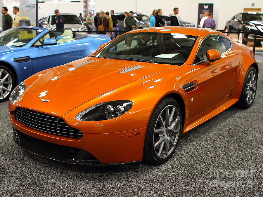 Aston Martin Db9 . 7d9625 Photograph  - Aston Martin Db9 . 7d9625 Fine Art Print