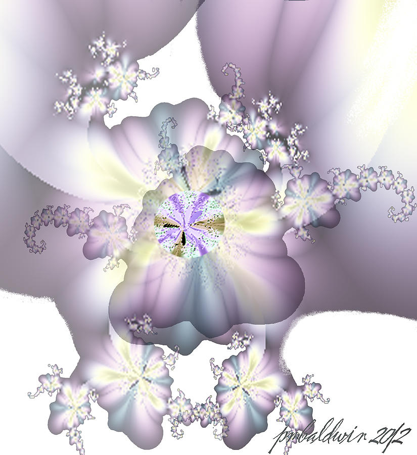 At The Lavender Ball Digital Art 
