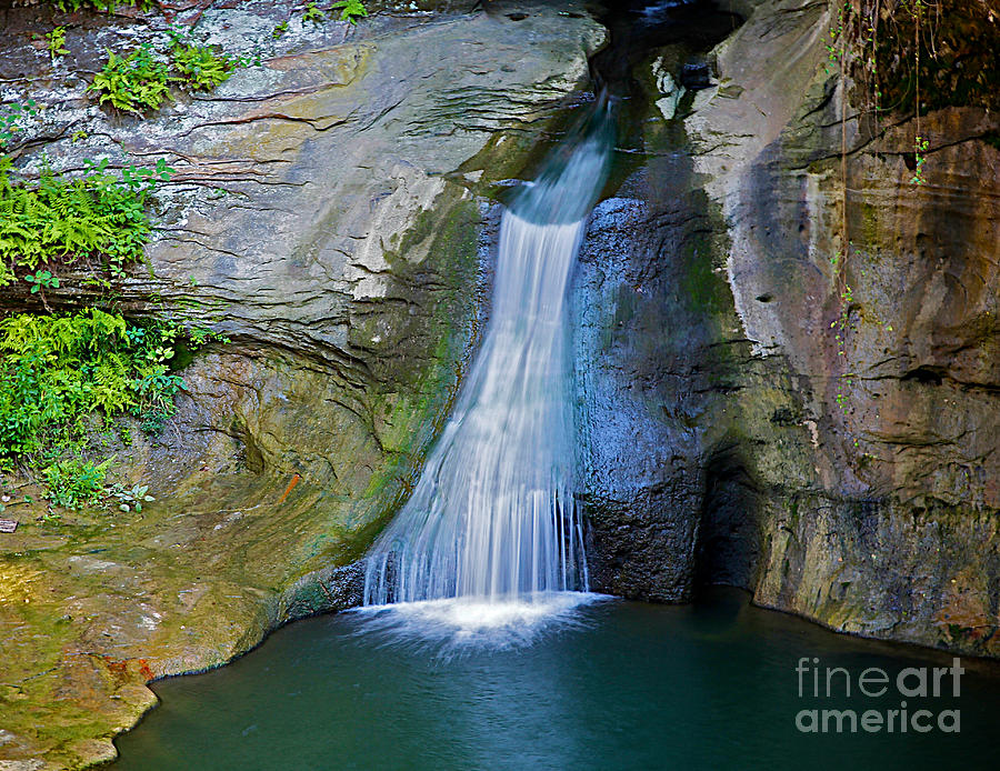 Water Falls Photograph - At The Well by Robert Pearson