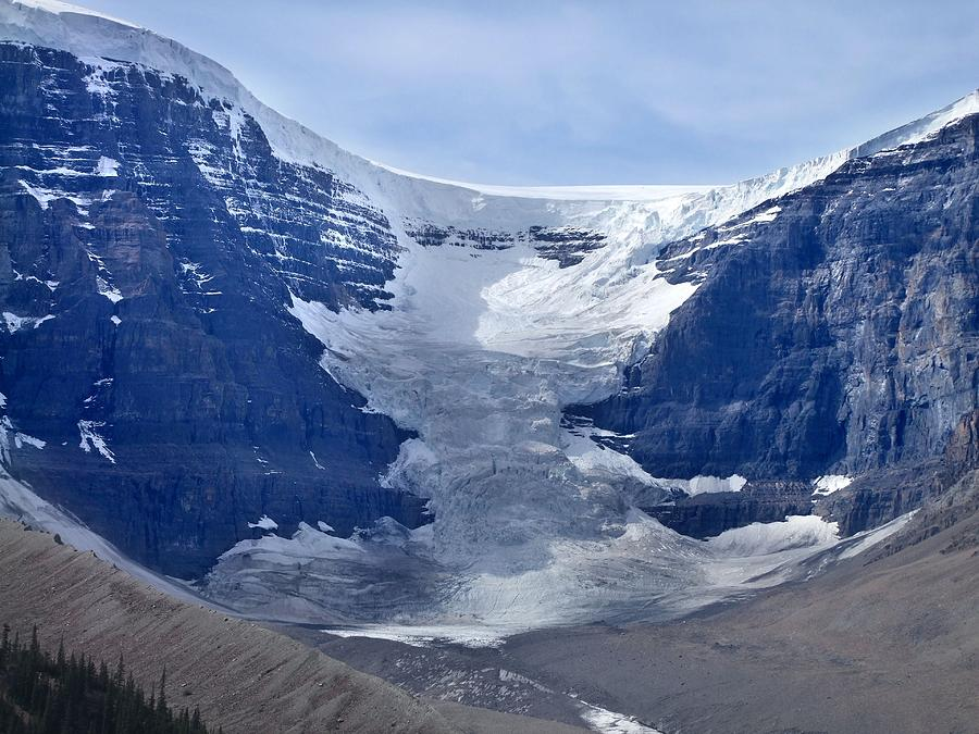 Athabasca Glacier By George Cousins