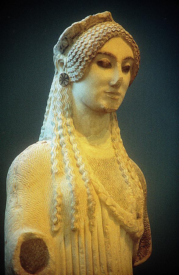 Athenian Kore Photograph