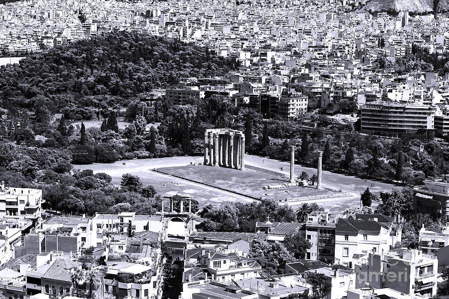 Athens Cityscape Iv Photograph