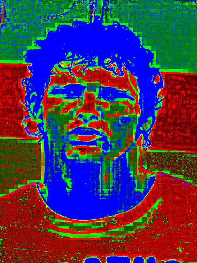 Athlete Digital Art