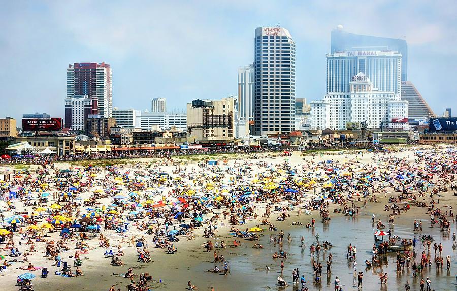 Atlantic City Beach Photograph