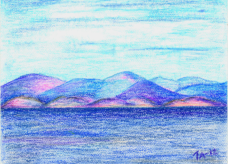 Atlantic Mountains 2 Pastel
