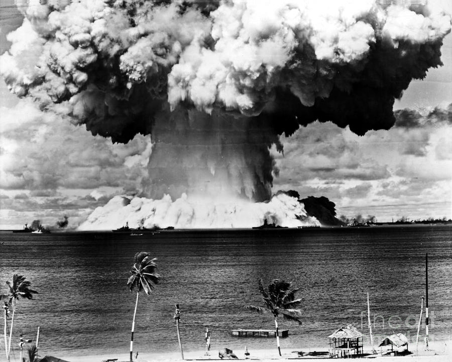 Atomic Bomb Test, 1946 Photograph  - Atomic Bomb Test, 1946 Fine Art Print