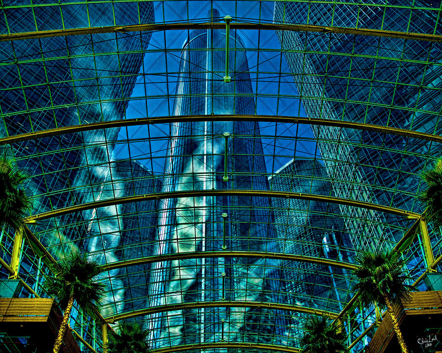 Atrium Gm Building Detroit Photograph  - Atrium Gm Building Detroit Fine Art Print