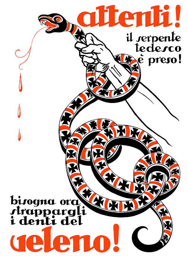 Attention The German Viper Is Taken Digital Art