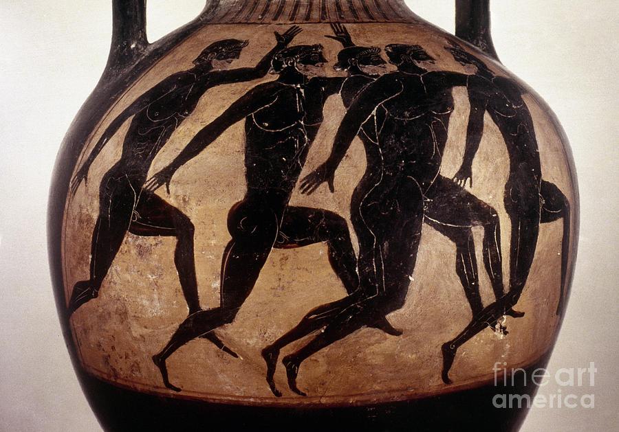 Attic Black-figured Vase Photograph