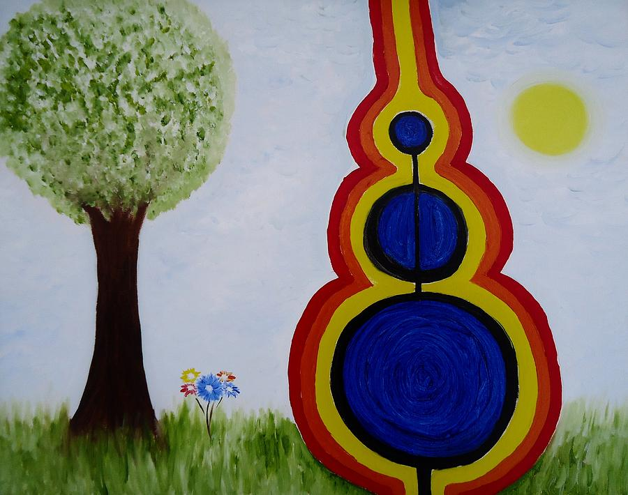 Attune - To Bring Into Harmony. Painting  - Attune - To Bring Into Harmony. Fine Art Print