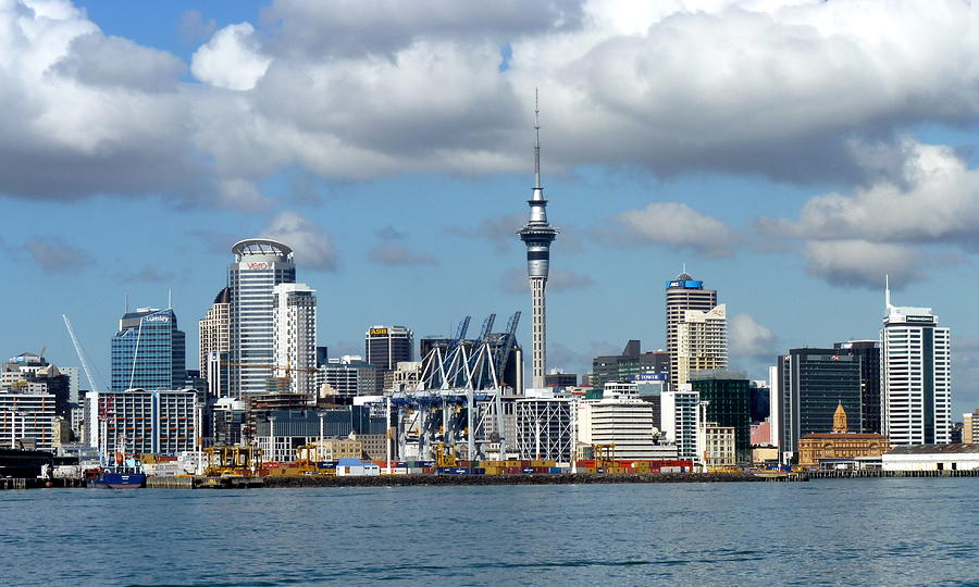 Auckland Skyline Photograph