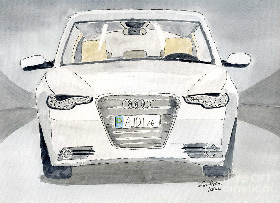 Audi A6 Painting