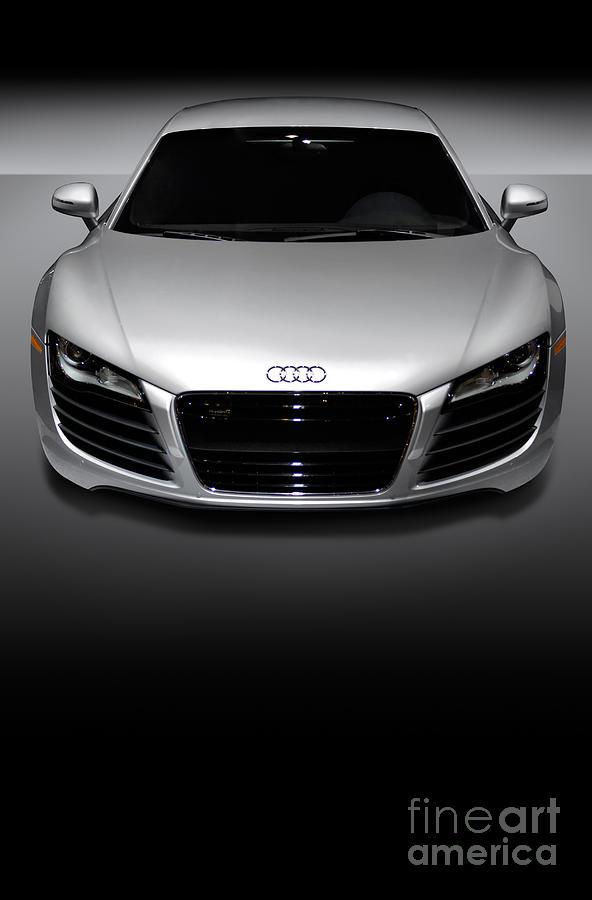 Audi R8 Sports Car Photograph