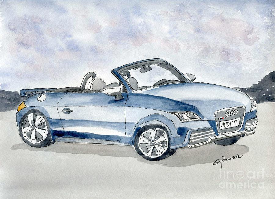 Audi Tt Painting
