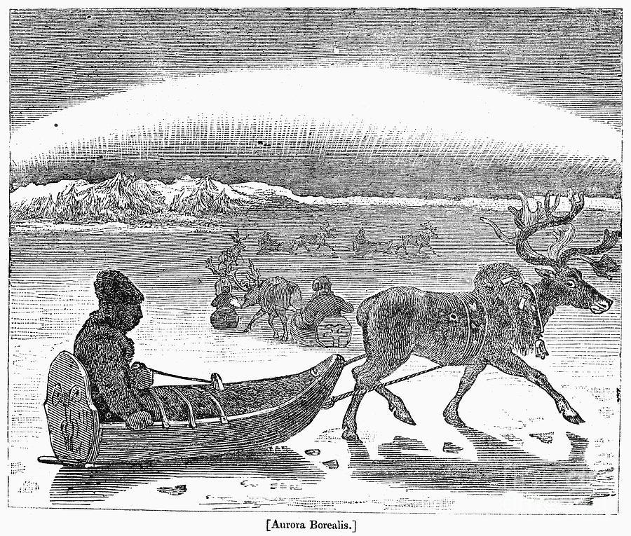 Aurora Borealis, 1833 Photograph