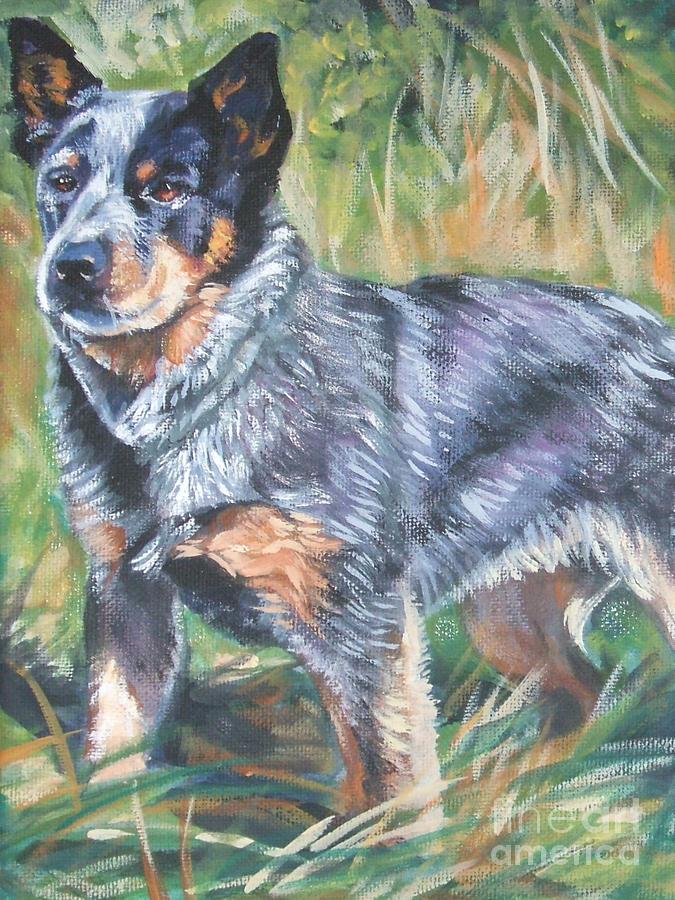 Australian Cattle Dog 1 Painting
