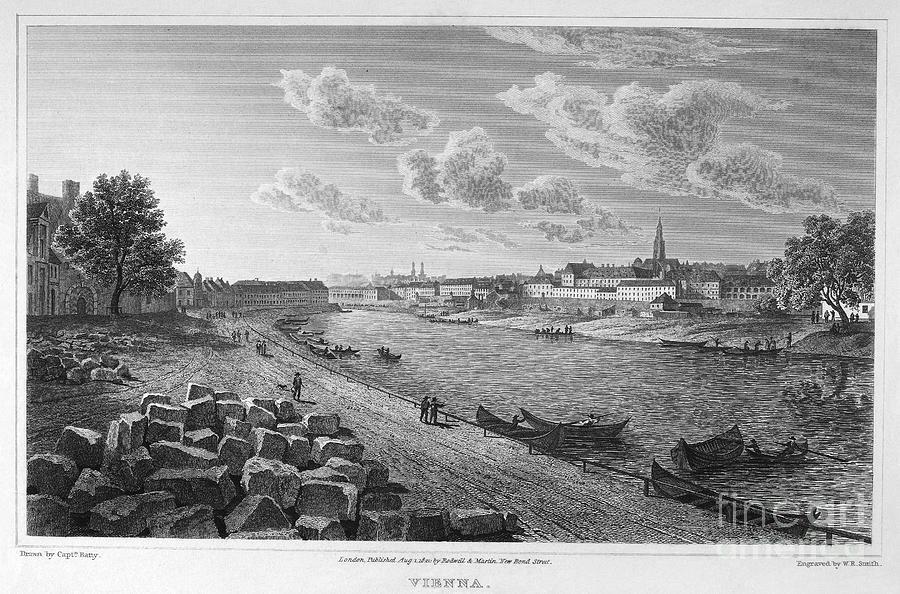 1821 Photograph - Austria: Vienna, 1821 by Granger