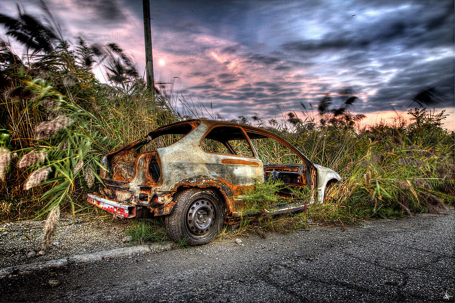 Automotive Art Photograph
