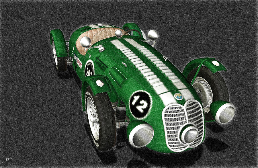 Automotive Nostalgia - Meteor 1947 Digital Art  - Automotive Nostalgia - Meteor 1947 Fine Art Print