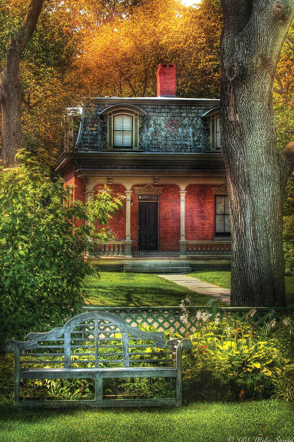 Autumn - House - The Estates Photograph  - Autumn - House - The Estates Fine Art Print
