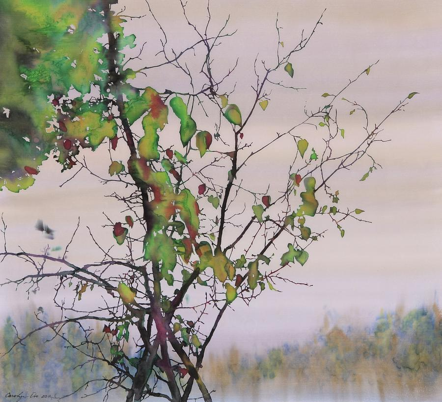 Autumn Birch By Sand Creek Tapestry - Textile  - Autumn Birch By Sand Creek Fine Art Print