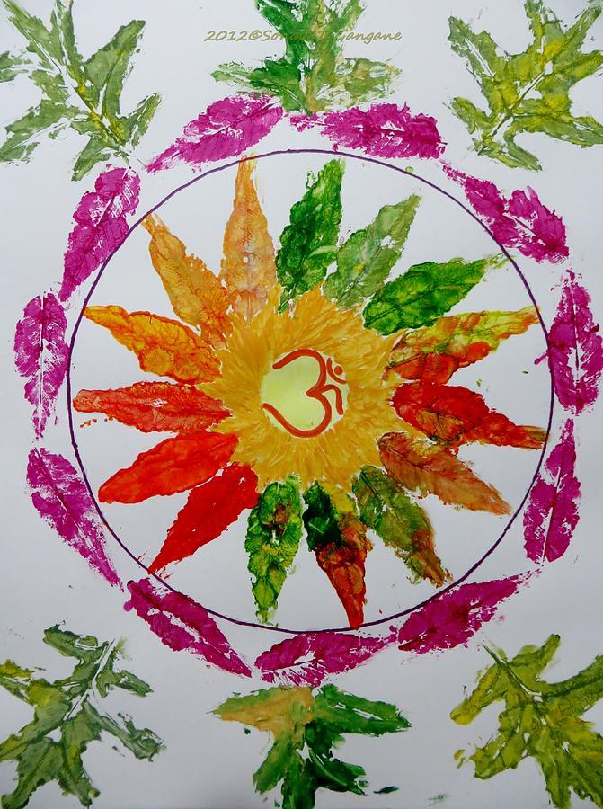 Autumn Chakra Painting