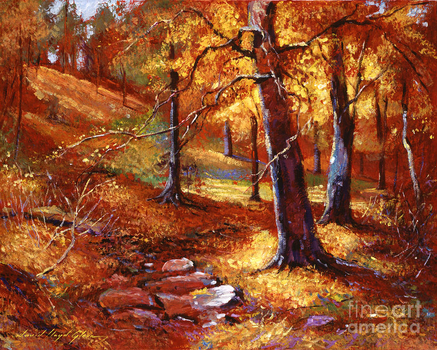 Autumn Color Palette Painting
