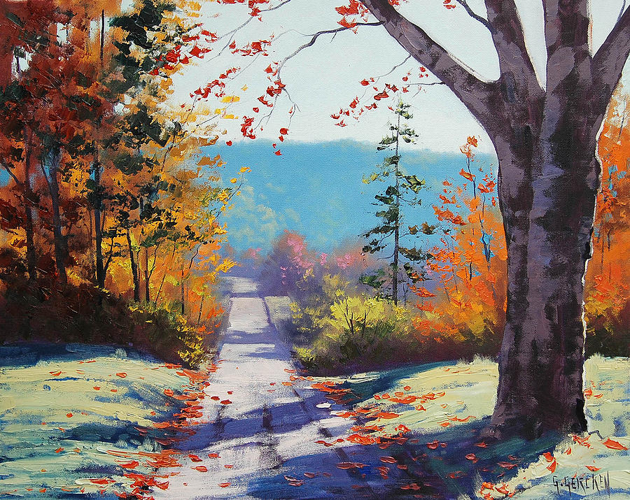 Fall Painting - Autumn Delight by Graham Gercken