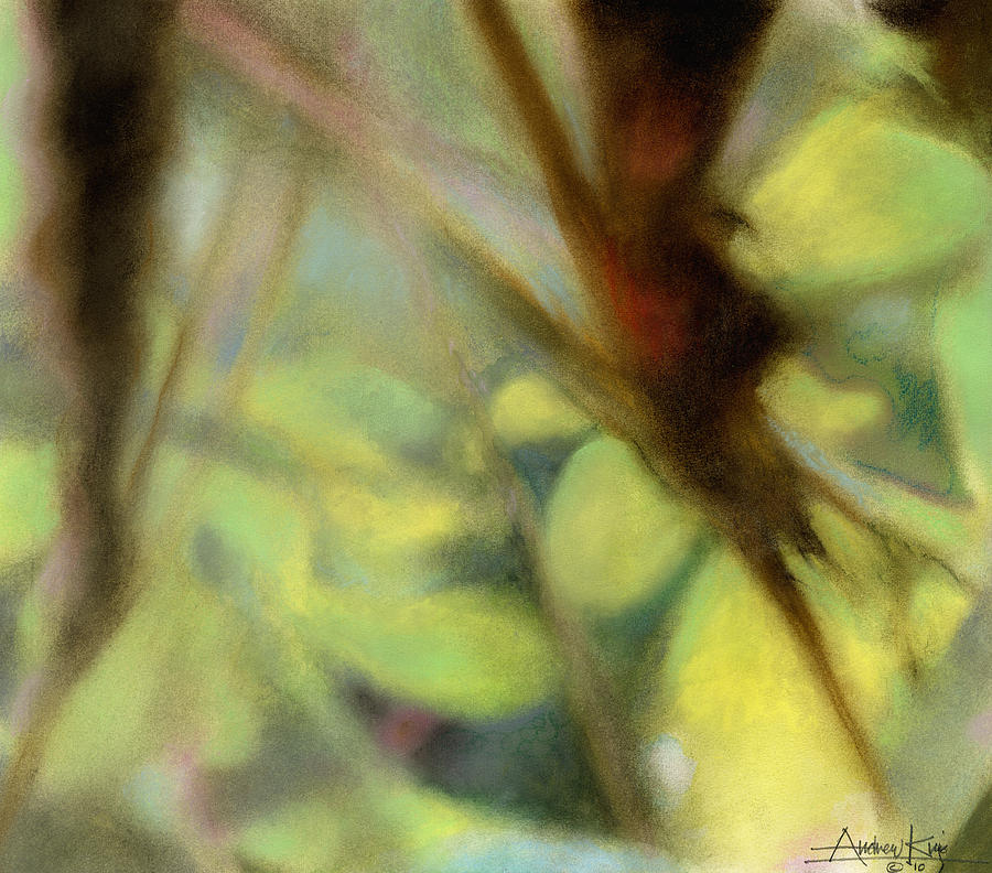 Autumn Dream Painting  - Autumn Dream Fine Art Print