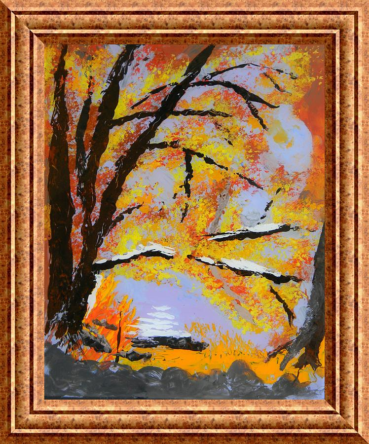 Autumn Dreaming Painting - Autumn Dreaming  by Warren Thompson
