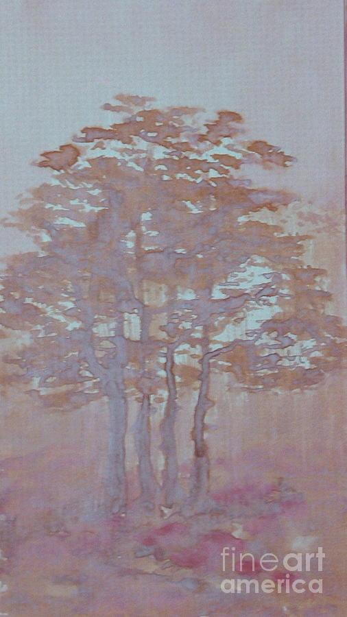 Autumn Fog Painting
