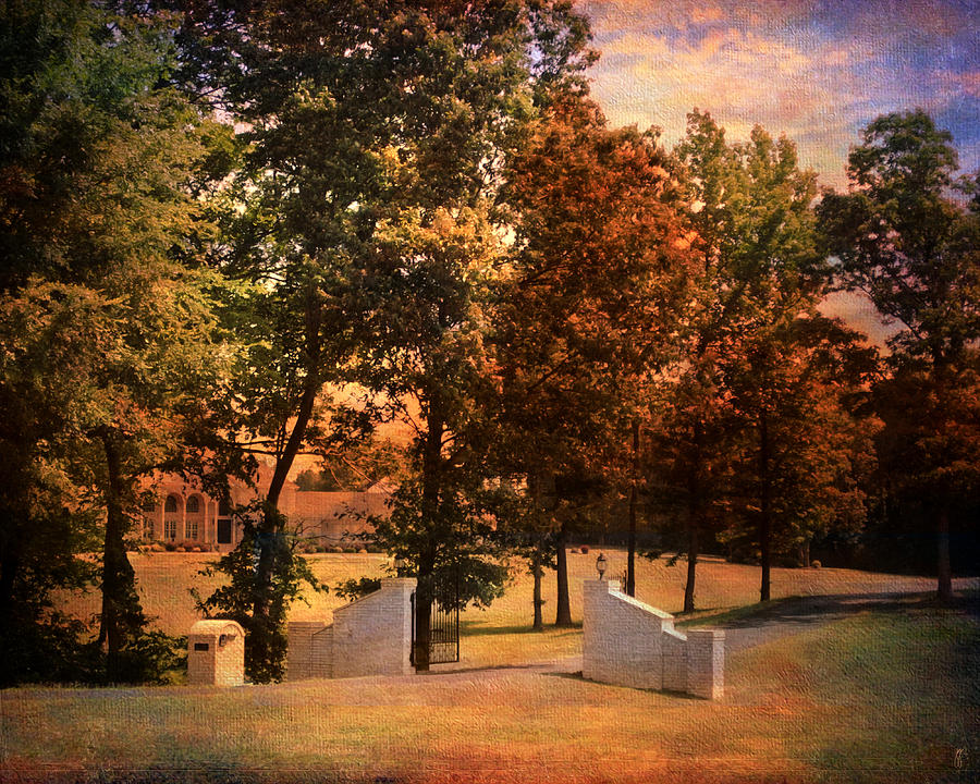 Autumn Photograph - Autumn Gate by Jai Johnson
